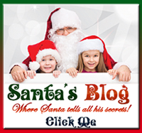 Santa's Blog, read all the current news about santa and he might tell you his big secret!